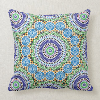 Pillow with mosaic