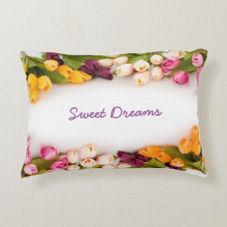 Pillow with sweet dreams