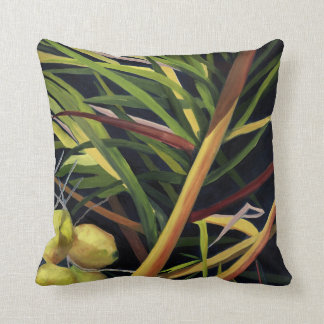 Pillow with Tropical Design