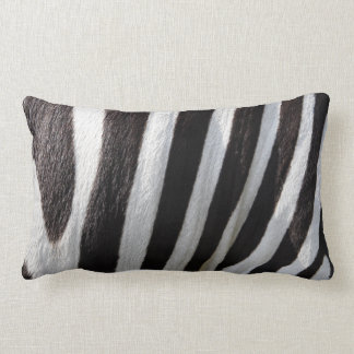 Pillow with Zebra Print