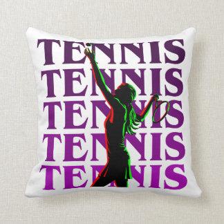 Pillow Women's Tennis 1 Purple Light