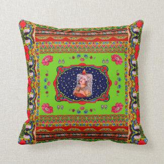 Pillowcase Inspired by Truck Art - 2 Throw Pillow