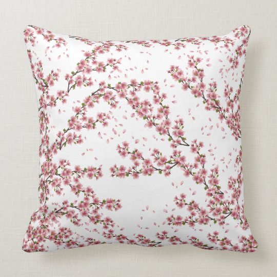 Pillows designed, Cherry Blossom