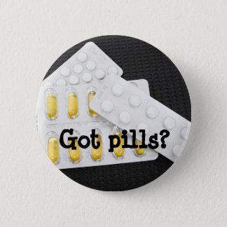 Pills 2 Inch Round Button