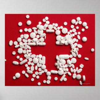 Pills Cross Poster