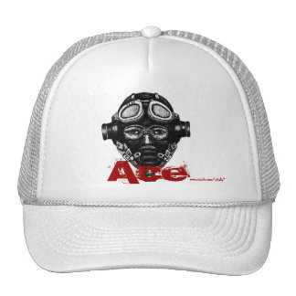 Pilot ace in helmet cool graphic art hat design