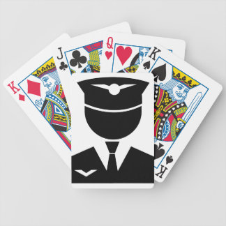 Pilot Bicycle Playing Cards