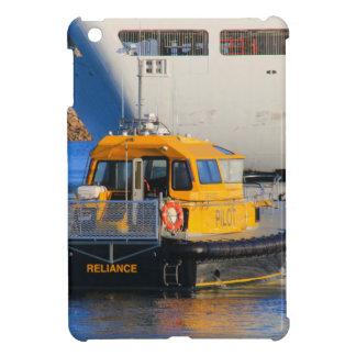 Pilot boat and cruise ship iPad mini cases