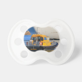 Pilot boat and cruise ship pacifier