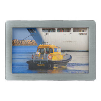 Pilot boat and cruise ship rectangular belt buckles