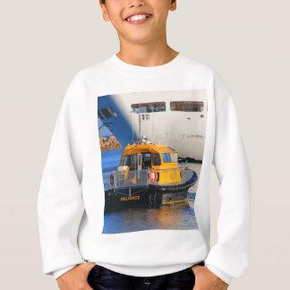 Pilot boat and cruise ship sweatshirt