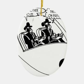Pilot Cartoon 3683 Ceramic Ornament