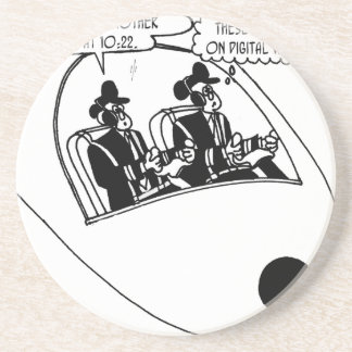 Pilot Cartoon 3683 Coaster