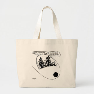 Pilot Cartoon 3683 Large Tote Bag