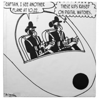Pilot Cartoon 3683 Napkin