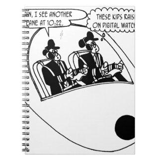 Pilot Cartoon 3683 Spiral Notebook