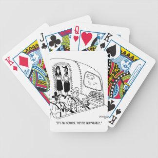 Pilot Cartoon 5139 Bicycle Playing Cards