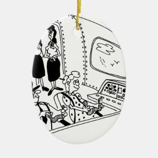 Pilot Cartoon 5139 Ceramic Ornament