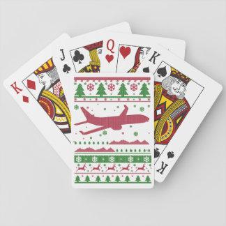 Pilot Christmas Playing Cards