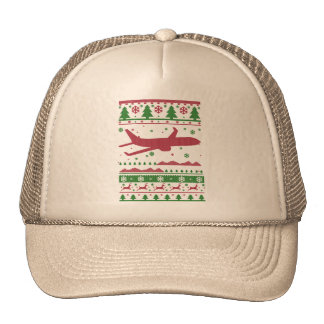 Pilot Christmas Trucker Hat