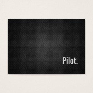 Pilot Cool Black Metal Simplicity Business Card