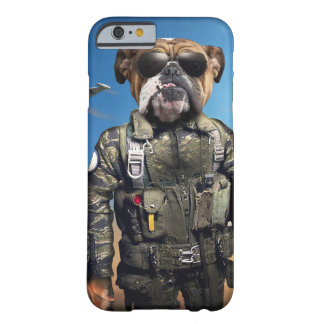 Pilot dog,funny bulldog,bulldog barely there iPhone 6 case