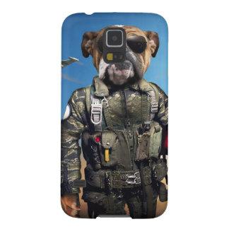 Pilot dog,funny bulldog,bulldog galaxy s5 case