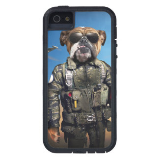 Pilot dog,funny bulldog,bulldog iPhone 5 case