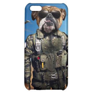 Pilot dog,funny bulldog,bulldog iPhone 5C case