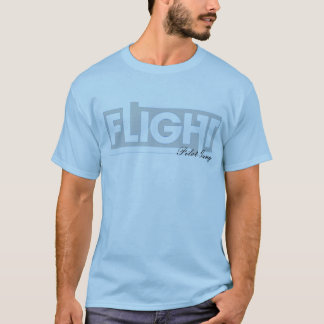 "Pilot Gang ""FLIGHT"" (Light Blue) Shirt"