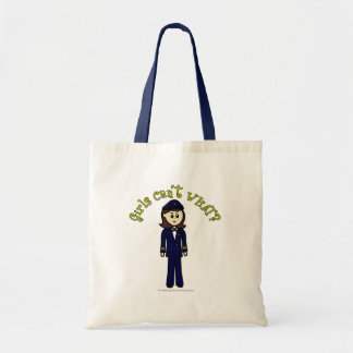 Pilot Girl Tote Bag
