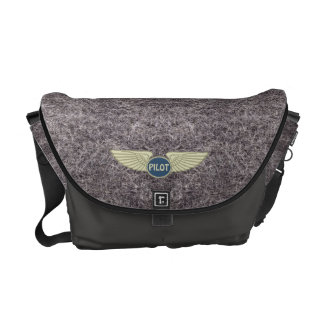 Pilot Gray Commuter Bag