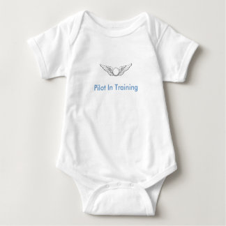 Pilot In Training Baby Bodysuit