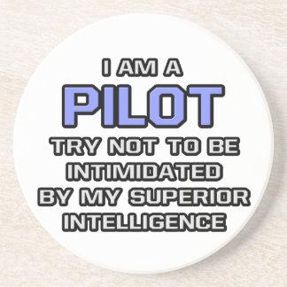 Pilot Joke ... Superior Intelligence Coaster