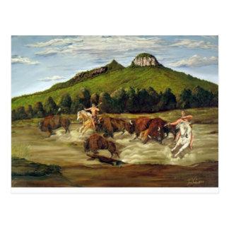 Pilot Mountain Hunt Postcard