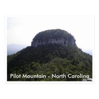 Pilot Mountain - North Carolina Postcard