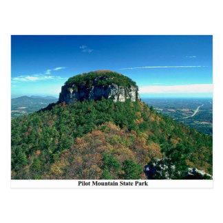 Pilot Mountain Postcard