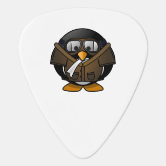 Pilot Penguin Guitar Pick