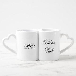 Pilot/Pilot's Wife Nesting Mugs