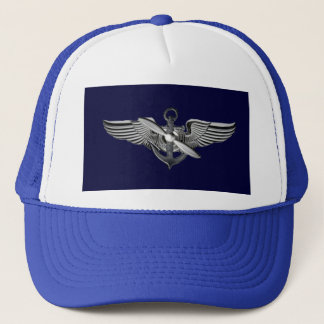 pilot wings trucker hat