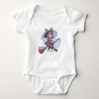 Pilot Witch Baby Bodysuit