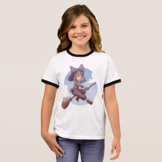 Pilot Witch Ringer T-Shirt