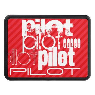 Pilote ; Rayures de rouge d'écarlate Couvertures Remorque D'attelage