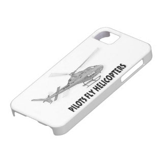 Pilots fly helicopters iPhone 5 cases