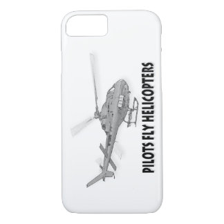 Pilots fly helicopters iPhone 7 case