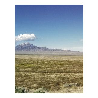 Pilot's Peak Panorama 1 Letterhead Template