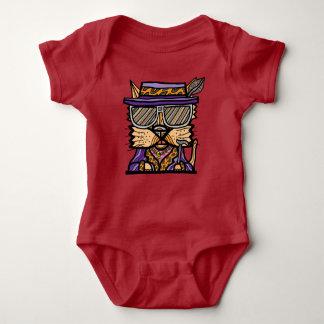 """Pimp Kat"" Baby Jersey Bodysuit"