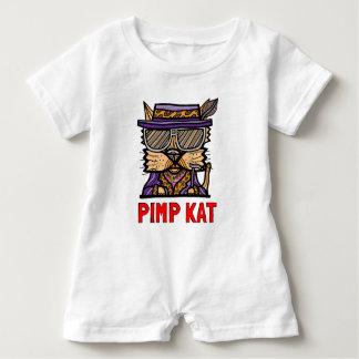 """""""Pimp Kat"""" Baby Romper"""