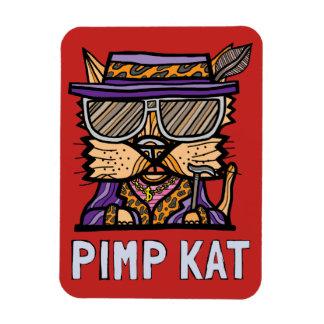 """""""Pimp Kat"""" Magnet"""