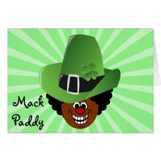 Pimped Out St. Patrick's Day Leprechaun Note Card
